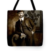 Vintage Photograph Of Vincent Van Gogh - Taken 13 Years After His Death Tote Bag