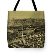 Vintage Pictorial Map Of Altoona Pa   Tote Bag