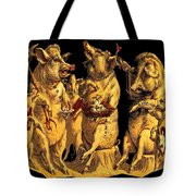 Pig Party Tote Bag