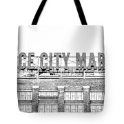 Vintage Ponce City Market  Tote Bag