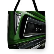 Vintage Pontiac Gto - Doc Braham - All Rights Reserved Tote Bag