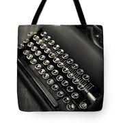 Vintage Portable Typewriter Tote Bag