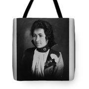 Vintage Portrait Of Colored Lady Tote Bag