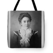 Vintage Portrait Of Young Lady Tote Bag