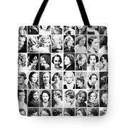 Vintage Portrait Photos Depict Womens Hairstyles Of The 1930s  - Doc Braham - All Rights Reserved. Tote Bag