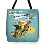 Vintage Poster - Bavarian Alps Tote Bag
