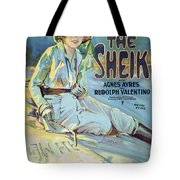 Vintage Poster - The Sheik Tote Bag