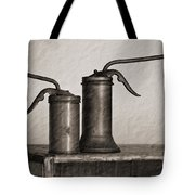 Pump Oil Cans  Tote Bag