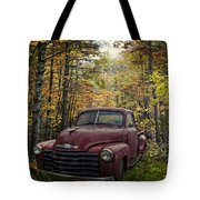 Vintage Red Tote Bag