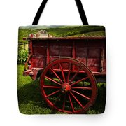 Vintage Red Wagon 2 Tote Bag
