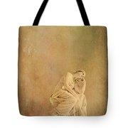 Vintage Reflecting Woman 1 - Artistic Tote Bag