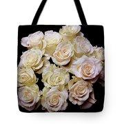 Vintage Roses Bouquet Tote Bag