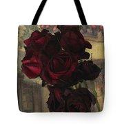 Vintage Roses In Vintage Paris Tote Bag