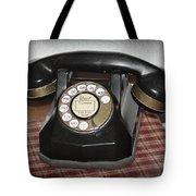 Vintage Rotary Phone Tote Bag