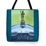 Collectible Vintage Rover Hood Ornament Tote Bag