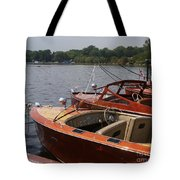 Vintage Row Tote Bag