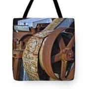 Vintage Rusty Machine Tote Bag