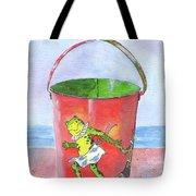 Vintage Sand Pail Dancing Frogs Tote Bag