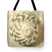 Vintage Seashell Still Life Tote Bag