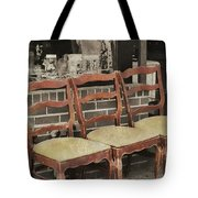 Vintage Seating Tote Bag