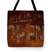 Vintage Sign 89c Tote Bag