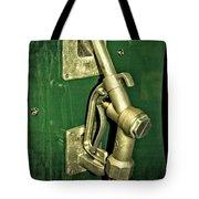 Vintage Sinclair Dino Gas Pump Tote Bag