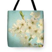 Vintage Spring Blossoms Tote Bag