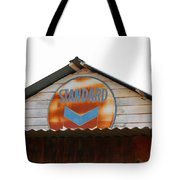 Vintage Standard Oil Sign Tote Bag by Art Block Collections