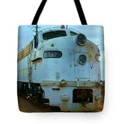 Vintage Steam Engine Tote Bag