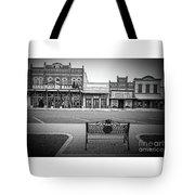 Vintage Street View Tote Bag