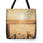 Vintage Sunrise Tote Bag