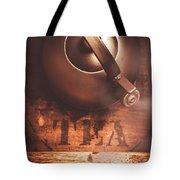 Vintage Tea Break Tote Bag