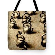 Vintage Teapot Party Tote Bag