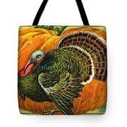 Vintage Thanksgiving Card Tote Bag