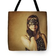 Vintage Theatre Show Girl  Tote Bag