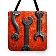 Vintage Tools Tote Bag