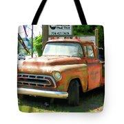 Vintage Tow Truck Tote Bag
