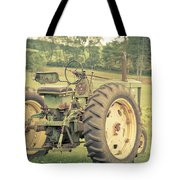Vintage Tractor Keene New Hampshire Tote Bag