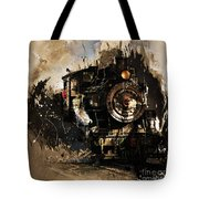 Vintage Train 06 Tote Bag