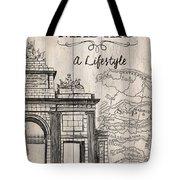 Vintage Travel Poster Madrid Tote Bag