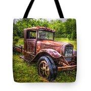 Vintage Treasure Tote Bag