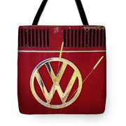 Vintage Vw Bus Logo Tote Bag