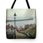 Vintage Whitby Tote Bag