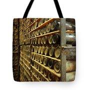 Vintage  Wine Bottles Tote Bag