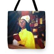 Vintage Worship Tote Bag