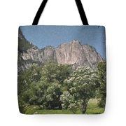 Vintage Yosemite Tote Bag