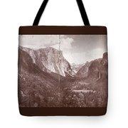 Vintage Yosemite Valley 1899 Tote Bag