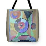 Vinyl Eye Tote Bag