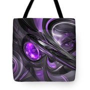 Violaceous Abstract  Tote Bag