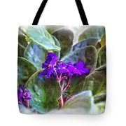 Violet Tote Bag by Beauty For God